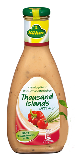 Kühne Salat Dressing 1000 Islands (500ml)